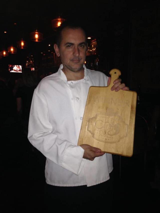 Piergiorgio Nanni, an award-winning chef at The Goose in Darien, maintains a creative menu throughout the year.