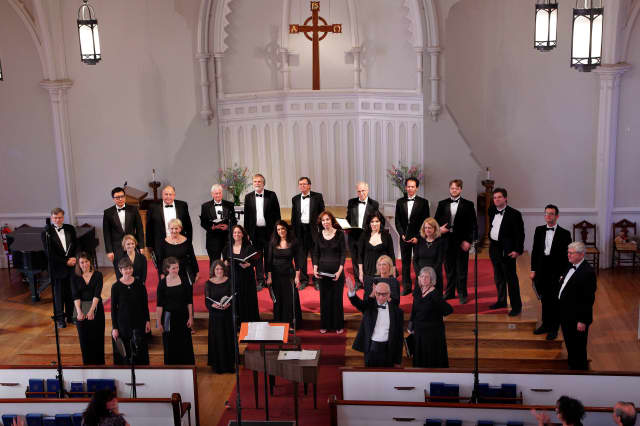 Charis Chamber Voices will be in concert in December in Mt. Kisco and Bedford.