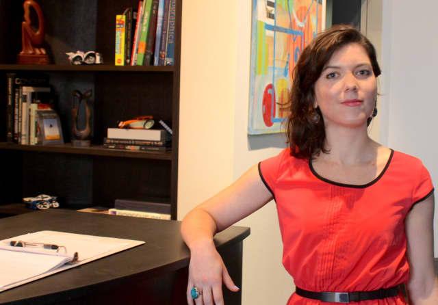 Gallery director Diana Buckley.