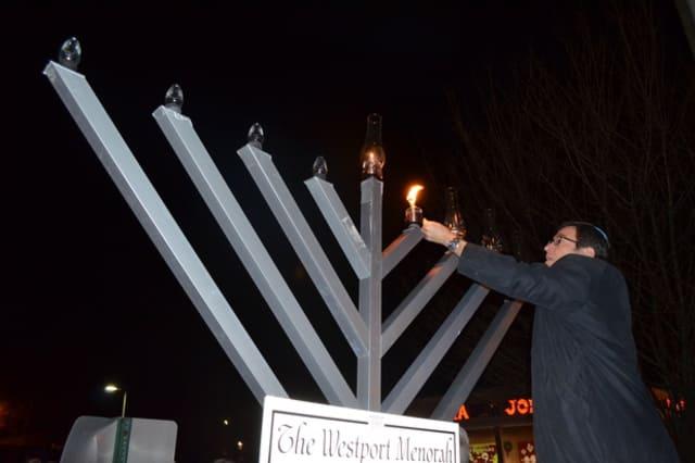 The Schneerson Center for Jewish Life, CT is hosting special menorah-lighting ceremonies in Westport, Weston, Wilton and Norwalk.