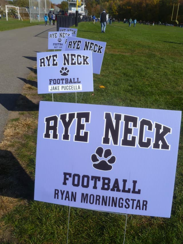 The Rye Neck Black Hats will play for the Class C state football title next Sunday, Dec. 1, at the Syracuse University Carrier Dome