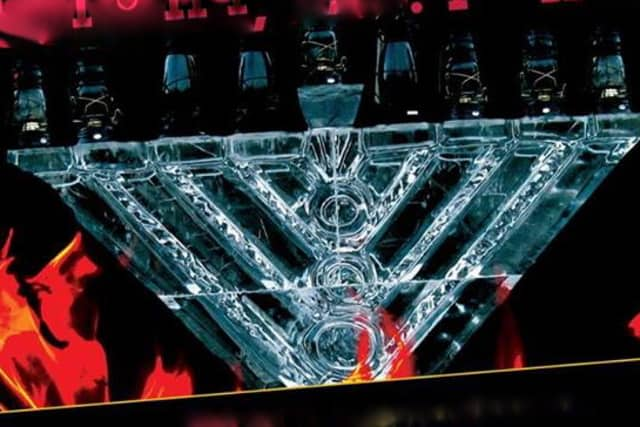 Celebrate Hanukkah on Dec. 1 with Chabad of the Rivertowns with a giant ice Menorah.