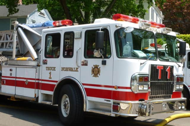 The Norwalk Fire Department put out a fire in a commercial building on Broad Street early Thursday, July 18 following a busy Wednesday, July 17 when shed catches fire in the storm.