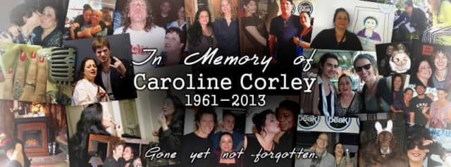 A collage of pictures featuring popular DJ Caroline Corley was posted on the 107.1 FM web site recently.