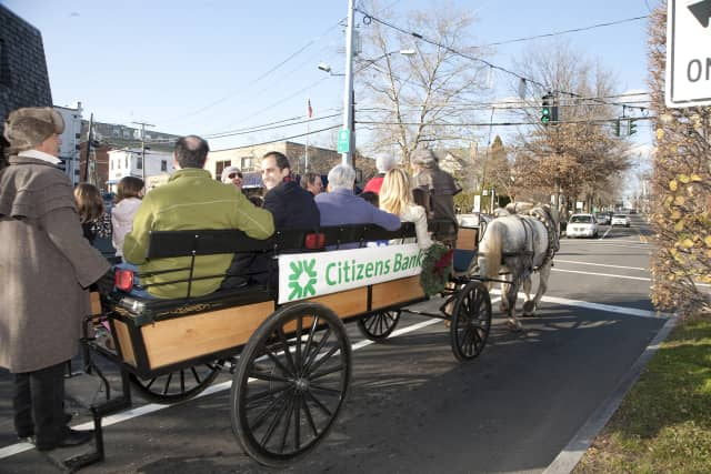The Greenwich Holiday Stroll returns to town on Dec. 7 and 8.