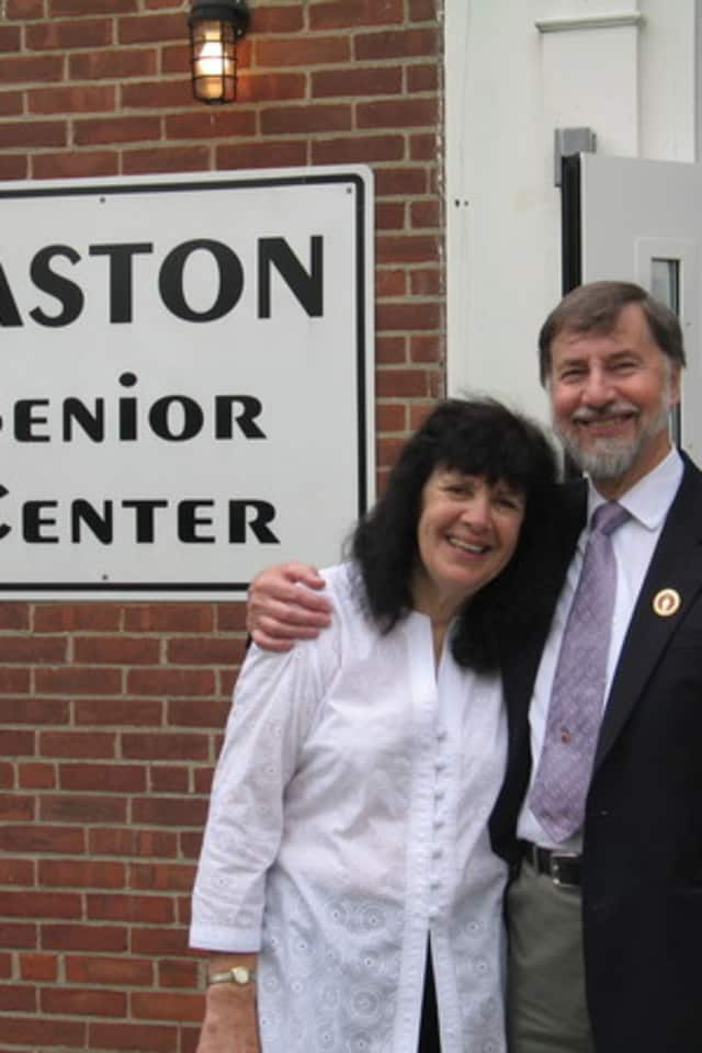 Val Buckley is the director of the Easton Senior Center. She won a legal challenge to force a recount in the race for first selectman in town.