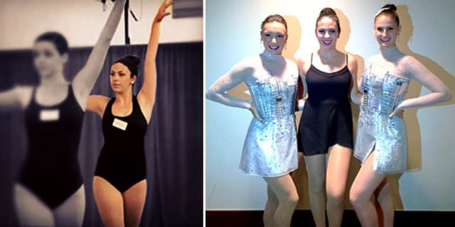 Harrison senior Victoria Feeney got to train with the Rockettes over the summer.