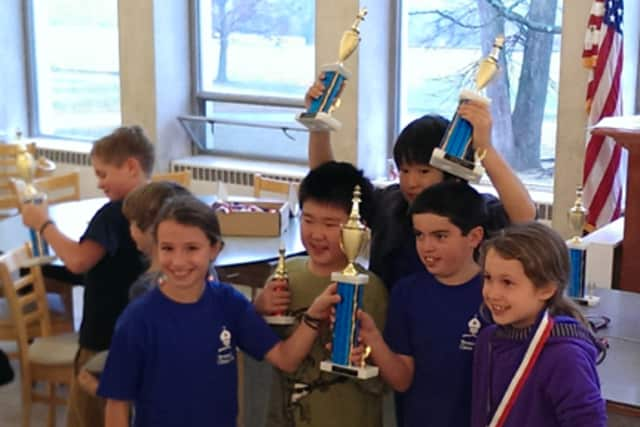 The Bronxville Chess Club sent more than 40 players to the National Schoolastic Chess Foundation's tournament at Greenwich Country Day School in November.