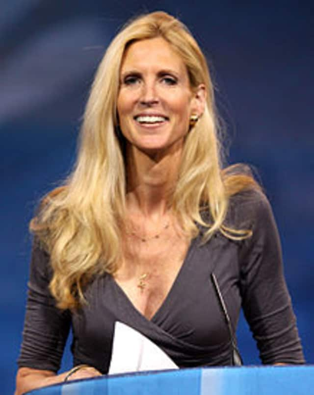 Ann Hart Coulter turns 52 on Sunday.