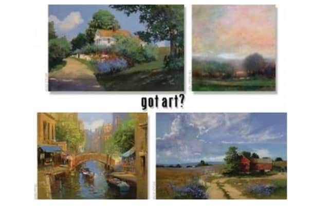 """Prints and original art work will be on display and for sale at the Wilton Library's December art show """"got art?"""""""