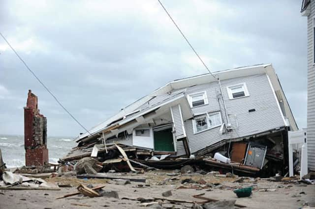 Wilton homeowners who sustained damages during Hurricane Sandy were reminded that there are five Intake Centers around the state to help them find financial relief.