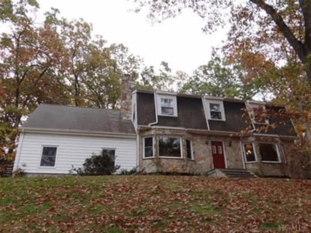 This house at 33 Dingle Ridge Road in North Salem is open for viewing this Sunday.