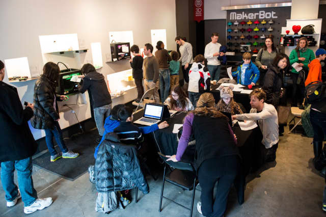 MakerBot in Greenwich is holding 3D printing classes for children.