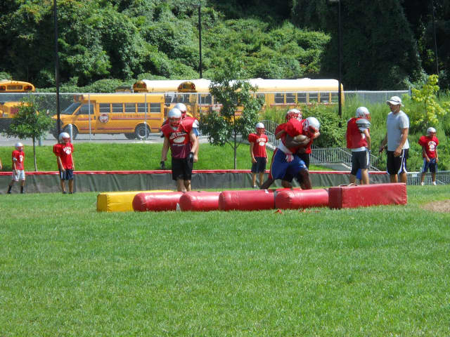 Athletic fields are part of an $8.8 million bond being voted on by the Tarrytown school district residents.
