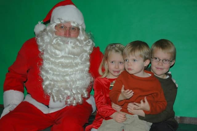 New Canaan kids can have breakfast and visit with Santa on Saturday, Dec. 14.