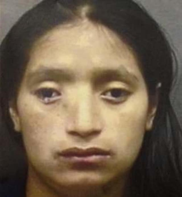 """Maria Guaman-Gumana, 23, a Spring Valley woman believed to be the mother of """"Baby Angel,"""" was arrested and charged with second-degree murder."""