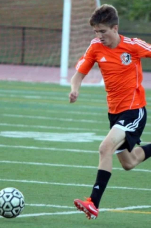 Nick Tunic of Mamaroneck HIgh School is a boys soccer All-American.