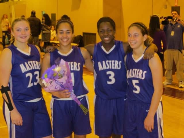 Dobbs Ferry student and New Rochelle resident Naya Williams is leading The Masters School basketball team.