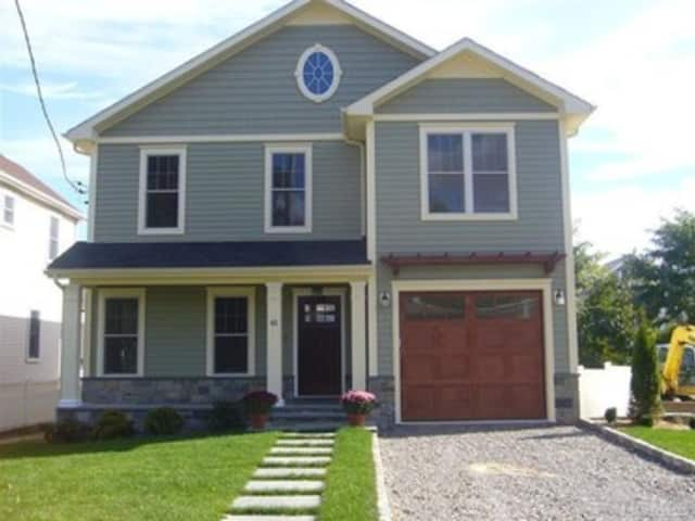 This house at 45 Leicester St. in Port Chester is open for viewing this Sunday.