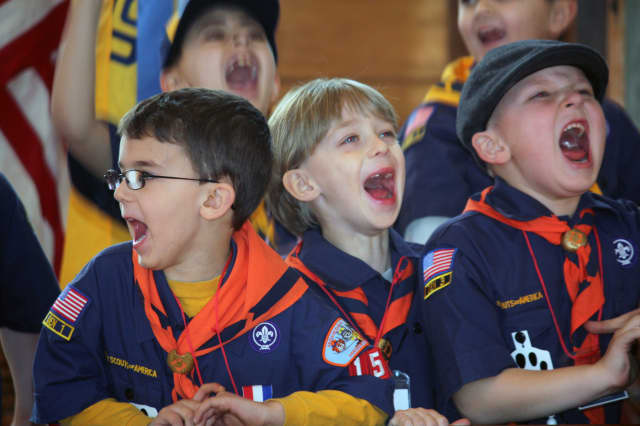 Hawthorne cub scouts give back to local charities.