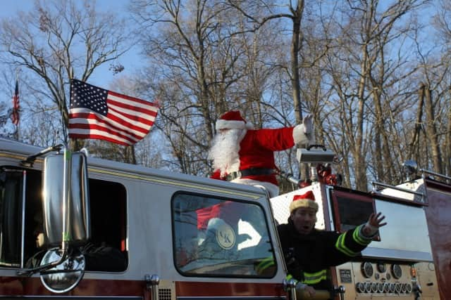 Santa Clause is making his annual visit to North Salem on Dec. 21.