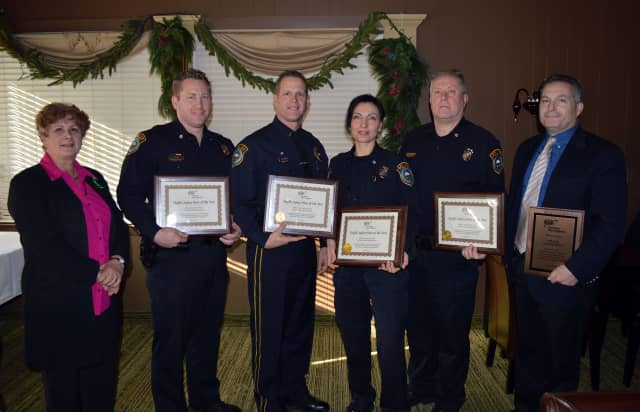 The Wilton Police Department and four officers were recognized by AAA for traffic safety achievements.