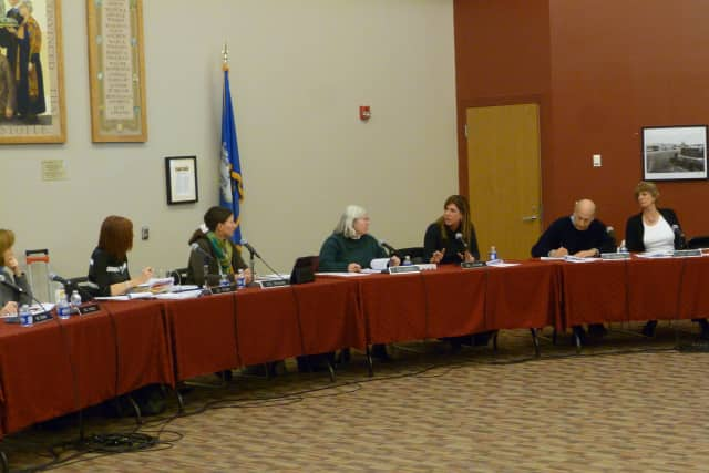 The proposed increase in the New Canaan school budget is linked to an increase in the cost of benefits.