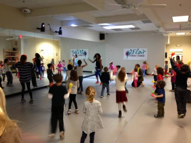 Flare Fitness will host a Zumba Kids Holiday Party on Monday, Dec. 23.