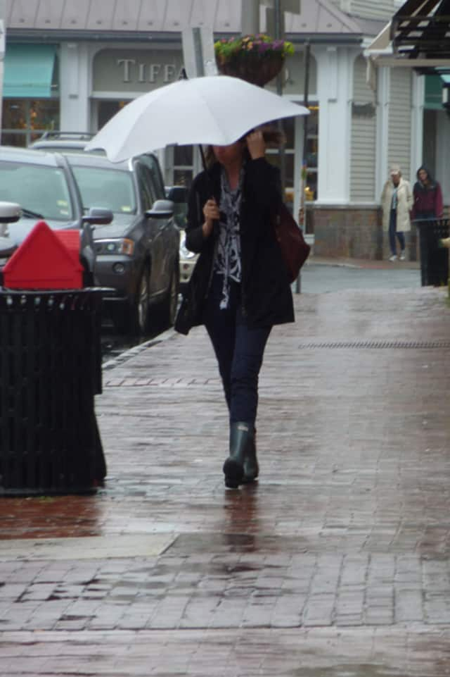 Monday will be rainy and warmer than usual in Fairfield County