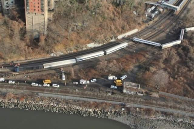 A Metro-North train on the Hudson River Line derailed in the Bronx killing four and injuring dozens