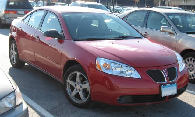 A red or burgundy Pontiac G6 is sought in connection with a fatal hit-and-run accident in Greenwich.