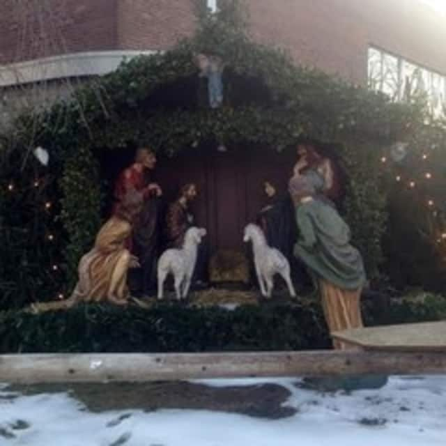 Statues were stolen from a creche in Ossining.