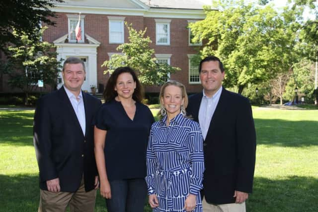 Pictured are (from left) Joe Sack, Kirstin Bucci, Julie Killian and Terry McCartney.