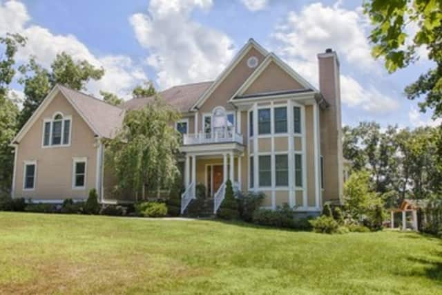 This house at 1212 Albany Post Road in Croton-on-Hudson is open for viewing this Sunday.