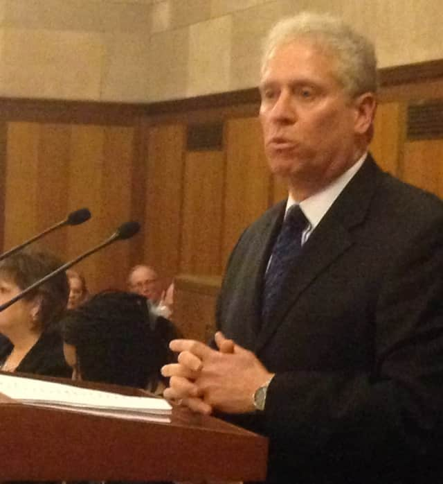 County Board of Legislators Chairman Michael Kaplowitz