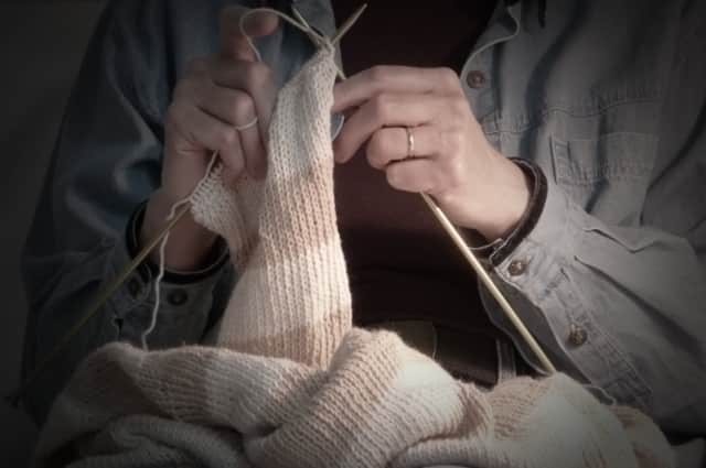 Haworth Library is offering knitting workshops.
