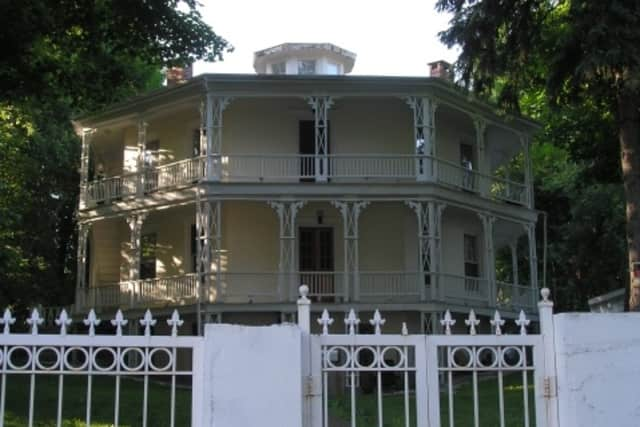The Octagon House on Spring Street in Danbury is on the National Register of Historic Places. Residents and government are trying to clean up the street and restore it to its former luster.