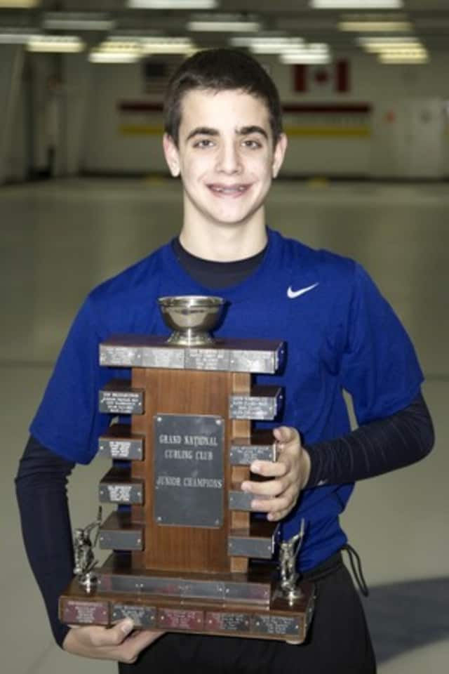 Briarcliff curler Andrew Stopera, 16, will be competing in the junior nationals in Seattle.