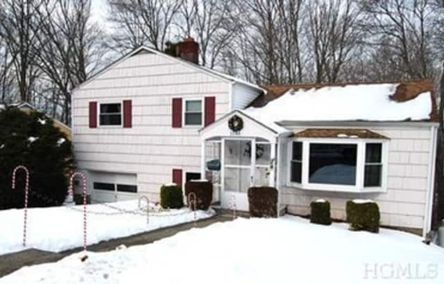 This house at 1548 East Blvd. in Peekskill is open for viewing this Sunday.