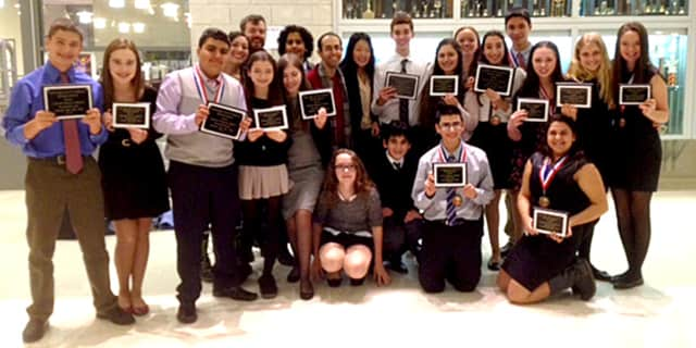 The Harrison High School debate team is celebrating two more victories and six consecutive wins.