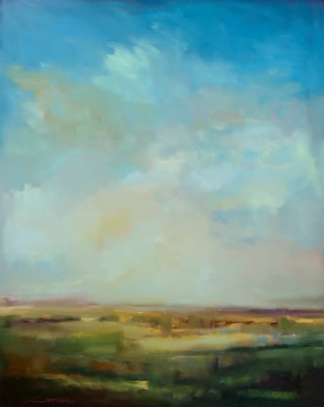 Painter William McCarthy will display his work at the Wilton Library from Jan. 24 to Mar. 1.