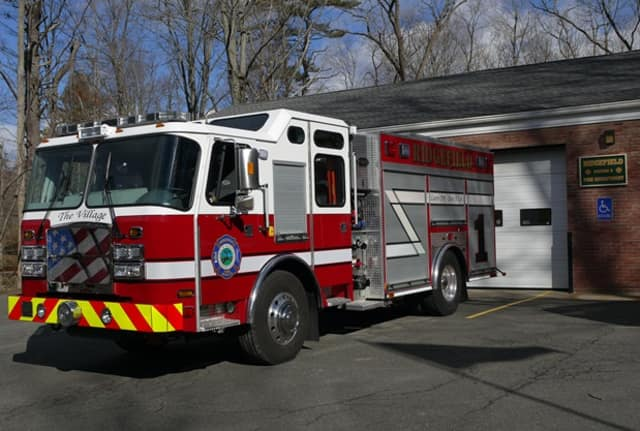 Two new Ridgefield firefighters recently paid their own tuition to the Connecticut Fire Academy.