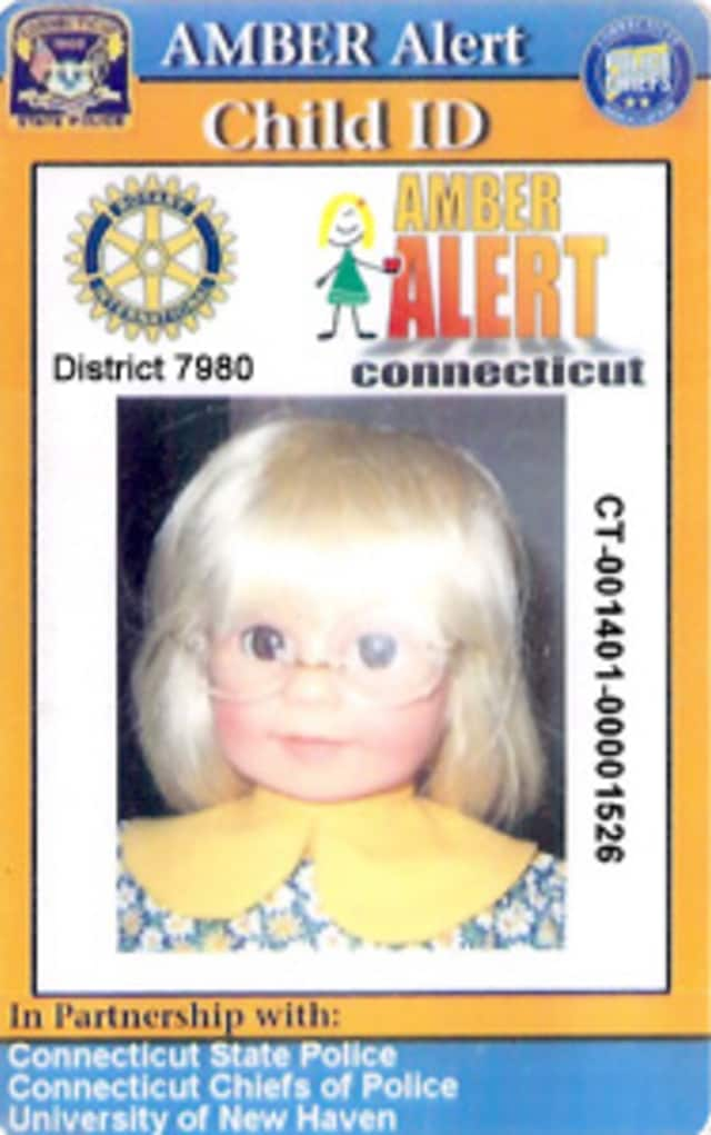 Get a free AmberAlert card at Child Safety day.