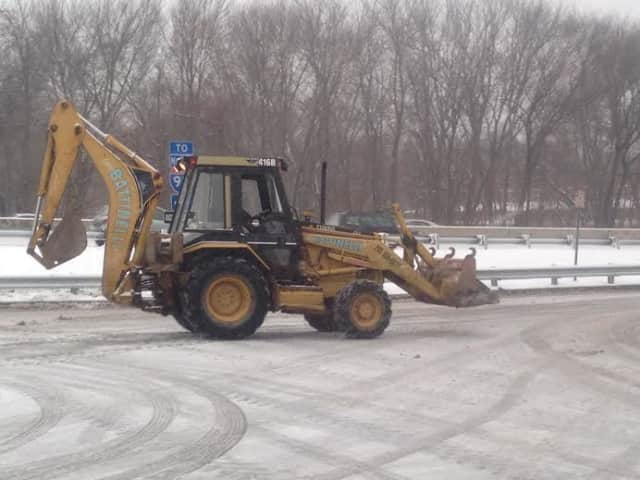 With 10 inches of snow possible in parts of Fairfield County, front end loaders and plows will be out in force to clear roads and parking lots.