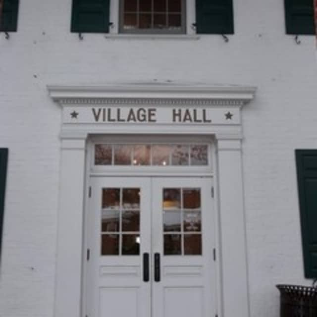 Village hall will close at noon due to Tuesday's snowstorm.