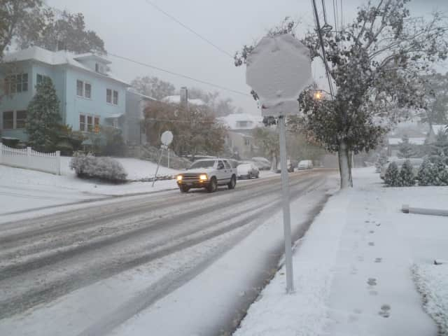 See the early closures and parking restrictions in effect in Yonkers for Tuesday's snowstorm.