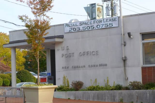 The New Canaan Post Office will operate out of a temporary mobile unit until a permanent home can be found.