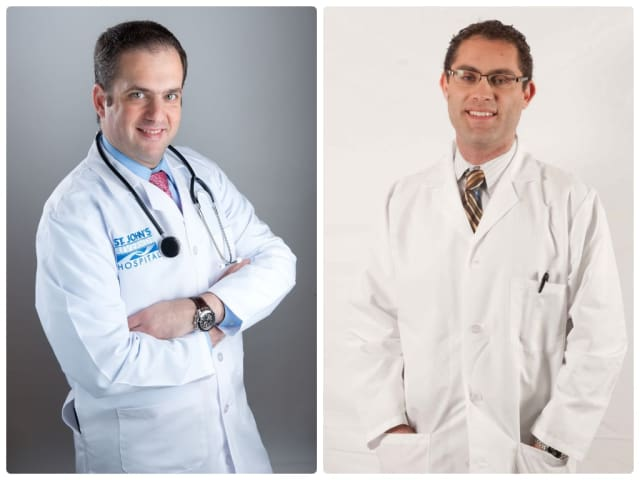 Dr. Jacob Gebrael and Dr. Alon Gitig