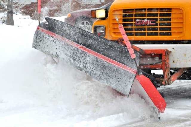 There will be a parking ban in effect in Trumbull on Saturday so public works crews can remove snow
