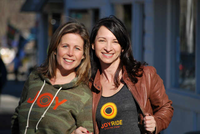 Corey Londoner and Amy Pal will open the studio at 62 Danbury Road as the third JoyRide Cycling Studio in Fairfield County.